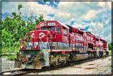 Corman Train in HDR