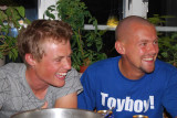 Janne  & Olof  festar