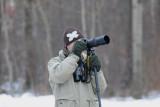 Simon försöker fota en Turturduva Falkenberg Halland 20.1-10