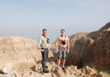 Mikael and I at a site with breeding Bonelli´s Eagle