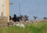 En glad Jens Morin har precis kryssat Sångsparv på Nidingen. 30 Maj-10