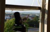 Utsikt mot Getterön från min lägenhet sept-07