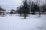 First of December and First Snow of the Season