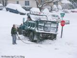 Even Snow Plows get stuck