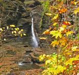 Central Cascade Falls - Watkins Glen State Park