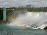 Rainbow at the American Falls