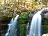 Top of Water Fall - George W. Childs State Park