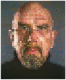 Chuck Close-self portrait