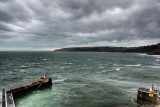 Laxey harbour entrance