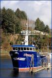 Fish Boat Ossian Salmon Harbor