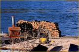 Fire Wood on the Umpqua River
