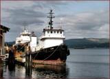 Titan and Nakoa Tugs Coos Bay Oregon