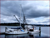 Boats Coos Bay Boardwalk