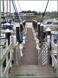 Salmon Harbor Marina Cloudy Day