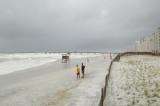 Hurricane Gustav Surge at Navarre Beach -- SEP 01 2008