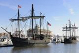 Replica Ships Nina and Pinta