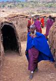 Young Maasai Woman