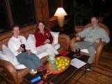 Arrival at The Lodge at Pico Bonito