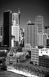Sydney Highrises in black and white