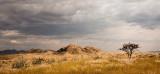 Cloudy Day in Namib Desert