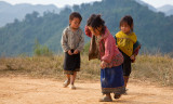 Hmong girls playing