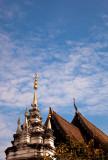 Chiang Mai Wat shooting for the sky