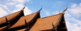 Wat Roof and Sky