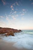 Wyadup Rocks waves at sunrise