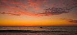 Cottesloe Beach sunset panorama
