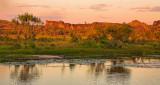 Hawk Dreaming landscape and East Alligator river