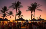 Mindil Beach market at dusk