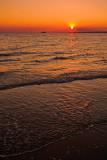 The setting sun at Mindil Beach
