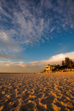Sand and Cloudscape at Cottesloe Beach