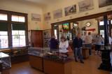 Inside the Niles SP Passenger Depot