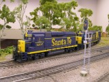 ATSF GP30s from the roster of Gary Green.