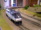 Amtrak San Joaquin in transition.