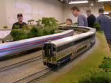 Dueling Amtrak San Joaquins.