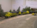 ATSF 7401 at Hearst Creek