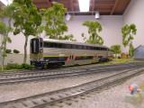 Amtrak California equipment at rest