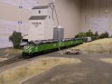 BN grain train at Sheridan.