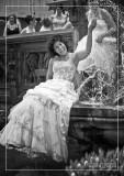 Bride in the Fountain