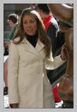 Her white coat gets my vote
