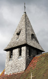 Tedstone Delamere - tower or steeple? based on timber frame and clad in shingles