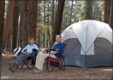 Butte Lake campsite