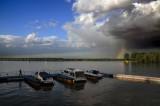 Tha Danube river, Zemun