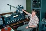 Mike Johnson Servicing Equipment in Studio C