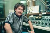 Program Director Mike Kolb At The Original Studio A Control Board - 1982