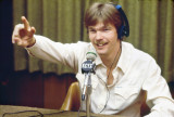 Brian Edwards Cues the Board Operator - 1982