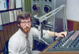 Mike Campbell In Studio B - 1982