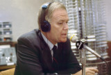 Senator Bob Packwood in Temporary On-Air Studio C